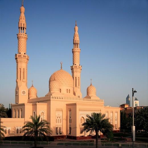 United Arab Emirates, Dubai, Jumeirah Mosque : Stock Photo