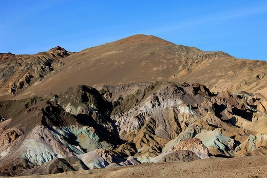 Stock Photo: 1566-814713 USA, California, Death Valley, National Park, Artists Palette,
