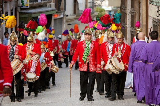 Stock Photo: 1566-817302 Holy Week. Baena, Córdoba, Andalusia, Spain.