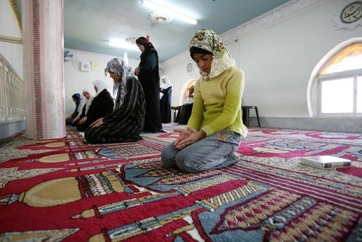 Mosque on friday in Amman, Jordan : Stock Photo