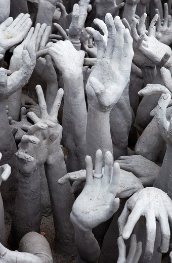 Artistic Display of Hands Asking for Help : Stock Photo