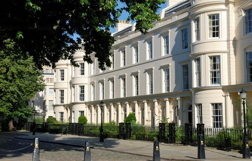 Stock Photo: 1566-822156 Luxurious property next to Regent´s Park, London, England