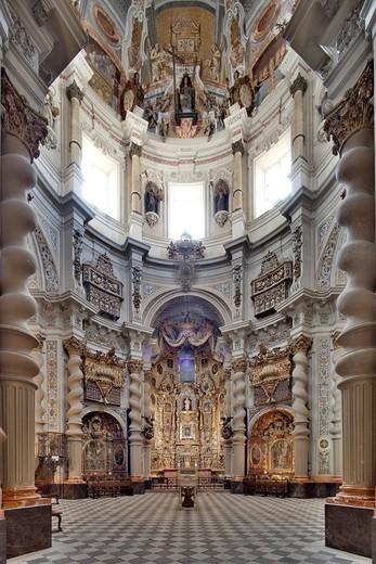 San Luis de los Franceses church 18th century, Seville, Spain : Stock Photo