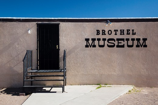 USA, Nevada, Great Basin, Amargosa Valley, Cherry Patch Brothel Museum : Stock Photo