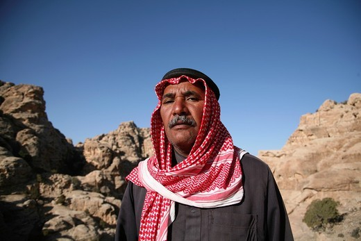 Bedouin in Jordan : Stock Photo