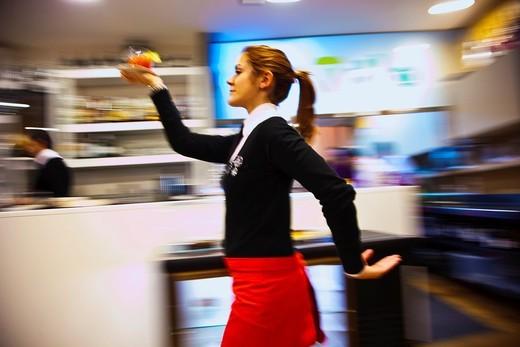Stock Photo: 1566-828492 Ewan Food Restaurant, Cheff Koldo Miranda, Salinas, Aviles, Principado de Asturias, Spain.
