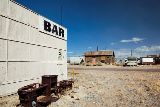 USA, Nevada, Great Basin, Goldfield, Columbia Bar : Stock Photo