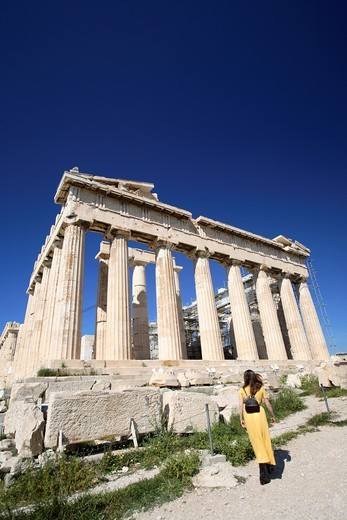 Stock Photo: 1566-831193 The Parthenon, Athens, Greece