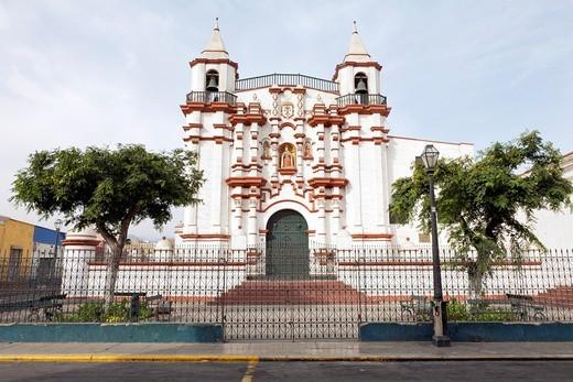 Monasterio del Carmen, Trujillo, La Libertad, Peru : Stock Photo