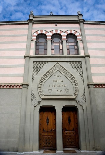 The Grande Synagogue in Geneva, Switzerland : Stock Photo