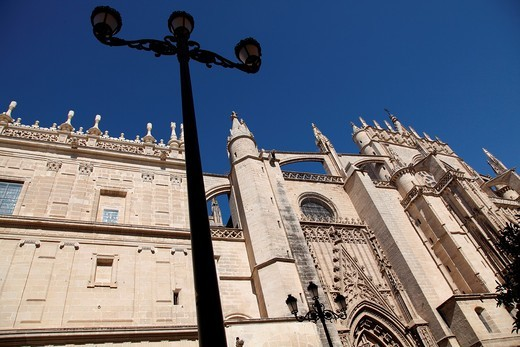 Catedral de Sevilla, Andalusia, Spain, Europe : Stock Photo