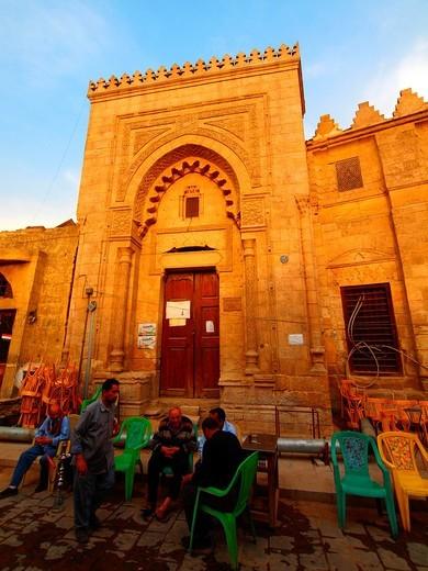 Mosque  Islamic Quarter  Cairo  Egypt : Stock Photo
