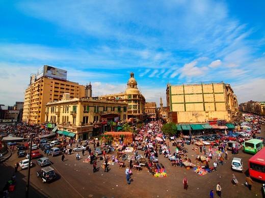 Ataba market, Islamic Quarter, Cairo, Egypt : Stock Photo