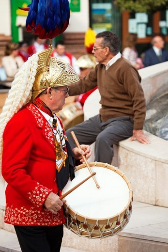 Stock Photo: 1566-833715 Holy Week. Baena, Córdoba, Andalusia, Spain.