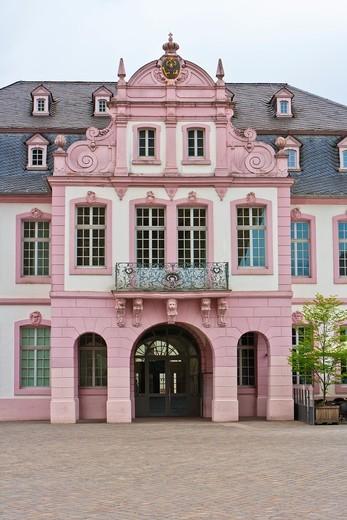 Stock Photo: 1566-834375 Palais Walderdorff in Trier, Rhineland Palatinate, Germany, Europe