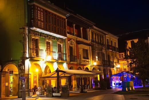 Stock Photo: 1566-836929 Domingo Alvarez Acebal Square  Aviles  Asturias  Spain.