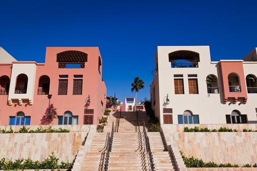 Stock Photo: 1566-842347 Jordan, Aqaba, Tala Harbor development, marina