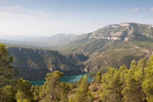 Stock Photo: 1566-844297 Natural reserve Muela de Cortes, Cortes de Pallas, Valencia province, Comunidad Valenciana, Spain