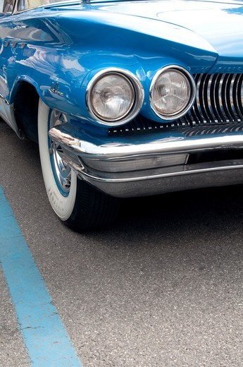 Italy, Lombardy, Meeting of Vintage Car, Detail of Buick Le Sabre : Stock Photo