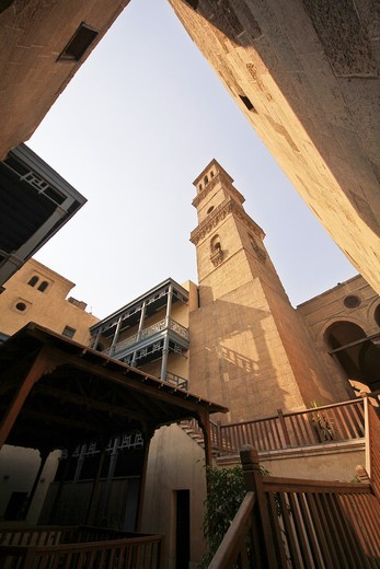 Mosque of Mohammad Bek Abu Al-Dahab, Cairo, Egypt : Stock Photo