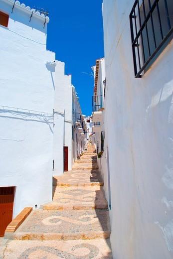 Town of Frigiliana, Andalusia, Spain : Stock Photo