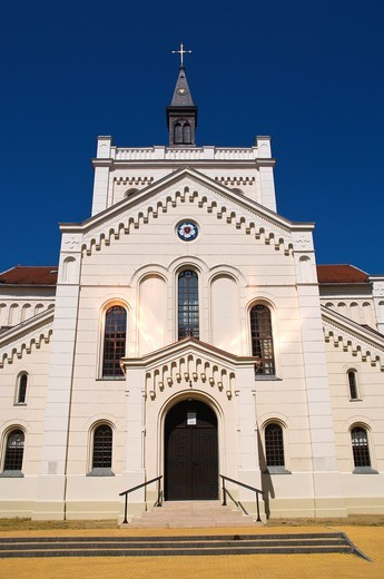 Stock Photo: 1566-850006 Lutheran Church 1803 by Miklas Ybl central Kecskemet Hungary Europe