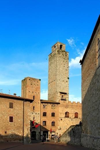 Stock Photo: 1566-851110 San Gimignano, Tuscany, Italy