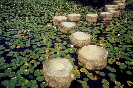 Garden of Heian Jingu sanctuary ,Kyoto, Japan : Stock Photo