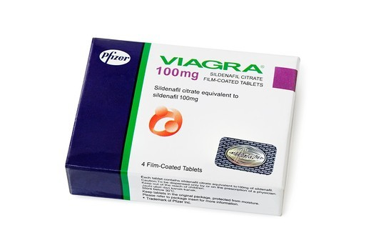 Viagra Packet : Stock Photo