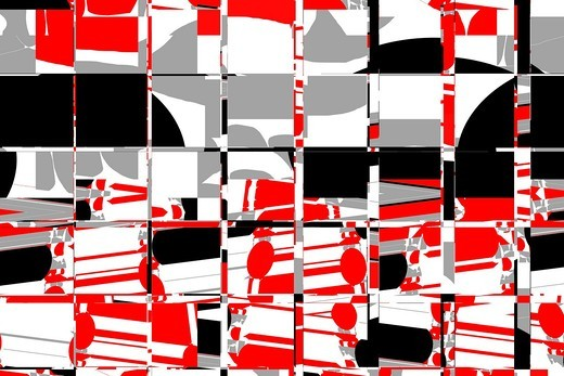 Stock Photo: 1566-854285 trendy pattern, background-design