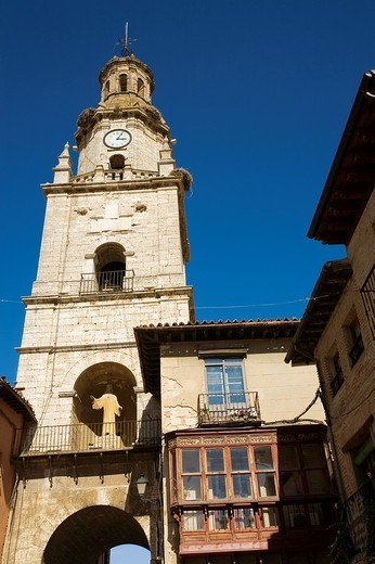 Puerta del Mercado (Market Gate), Street, Toro, Zamora Province, Castile and Leon, Spain. : Stock Photo