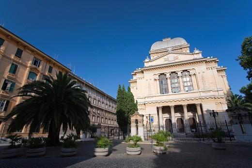 Sinagogue, Old Jewish Ghetto, Rome, Italy : Stock Photo