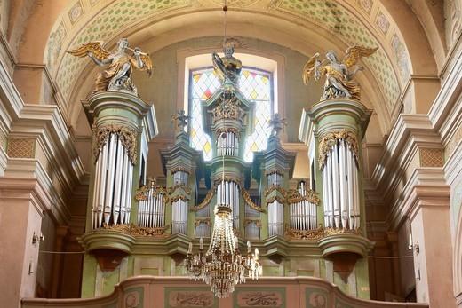 Stock Photo: 1566-857229 Tykocin-Holy Trinity Church, Podlasie region, Poland, Europe