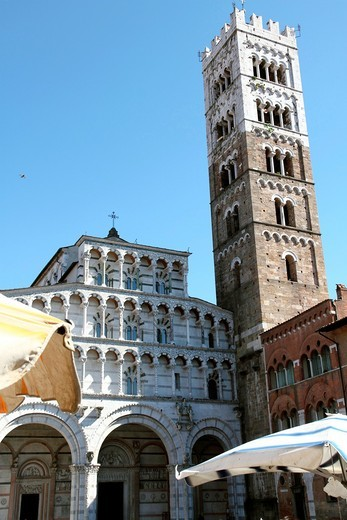 Lucca Cathedral Duomo di San Martino, St Martin Cathedral ,Tuscany, Italy : Stock Photo