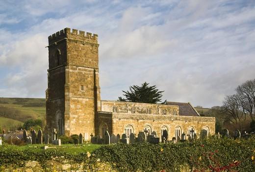 Abbotsbury church, Dorset, England, UK : Stock Photo