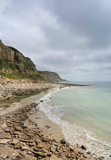 Stock Photo: 1566-859881 South coast of England near Hastings, East Sussex, England, UK