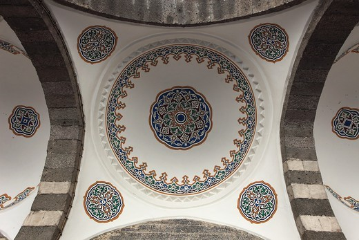 Turkey, Diyarbakir, Safa Mosque, : Stock Photo