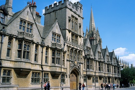 Stock Photo: 1566-861062 U K , Britain, England, Oxford, Brasenose College