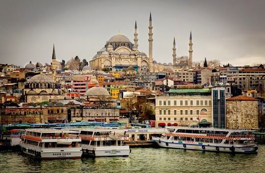 Cityscape  Istanbul, Turkey : Stock Photo