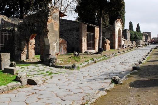 Pompei : Stock Photo