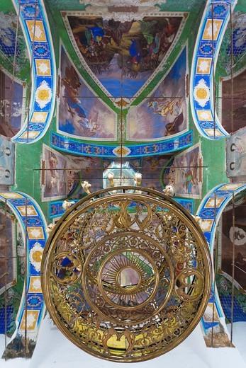 Stock Photo: 1566-871785 Russia, Vladimir Oblast, Golden Ring, Suzdal, Resurrection Church, interior