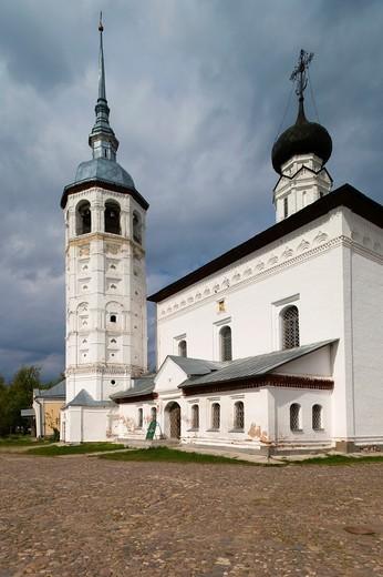 Russia, Vladimir Oblast, Golden Ring, Suzdal, Resurrection Church, exterior : Stock Photo