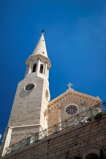 Israel, West Bank, Bethlehem, Lutheran Christmas Church : Stock Photo