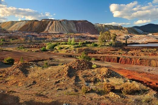 Minas de Río Tinto Huelva : Stock Photo