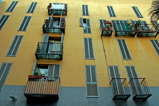Housing, Barcelona, Catalonia, Spain : Stock Photo