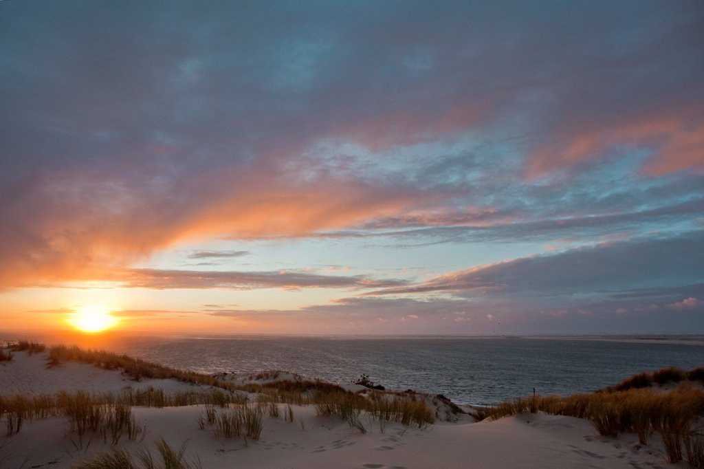 Stock Photo: 1566-877675 Atlantic Beach  La Teste de Buch  Gironde  Aquitaine  France  Europe