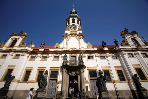 Stock Photo: 1566-878252 Loreta monastery, a large pilgrimage destination in Hradčany, Prague, Czech Republic