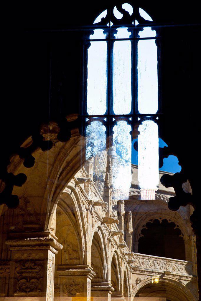 Stock Photo: 1566-879977 Mosteiro dos Jeronimos, Hieronymites Monastery, Late Gothic period, Belem, Lisbon