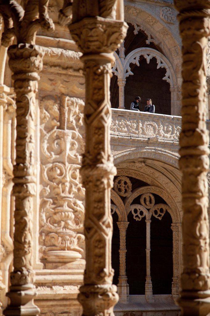 Stock Photo: 1566-879979 Mosteiro dos Jeronimos, Hieronymites Monastery, Late Gothic period, Belem, Lisbon