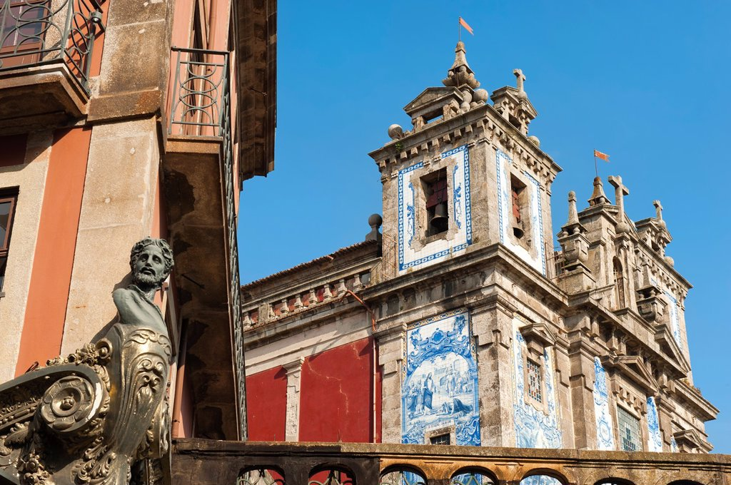 San Ildefonso Church, Porto, Portugal, Unesco World Heritage Site : Stock Photo